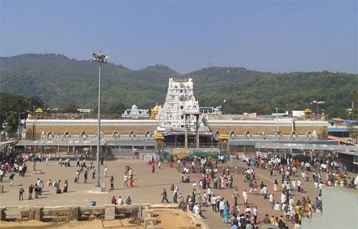 tirupati balaji temple vastu